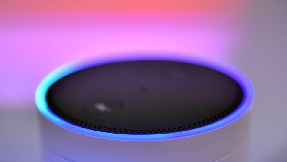 Amazon Echo: Wenn der Ring leuchtet, hört das Gerät zu