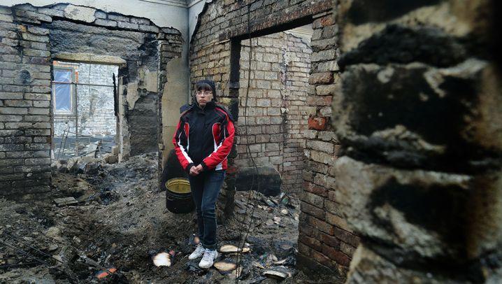 Kriegsopfer in der Ukraine: Trauer, Wut, Hilflosigkeit