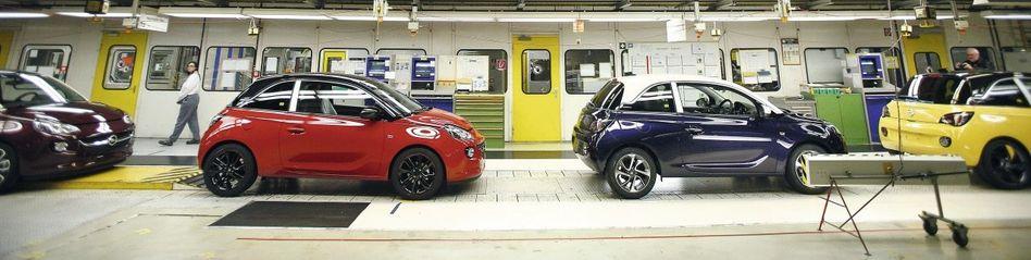 Opel-Adam-Produktion in Eisenach