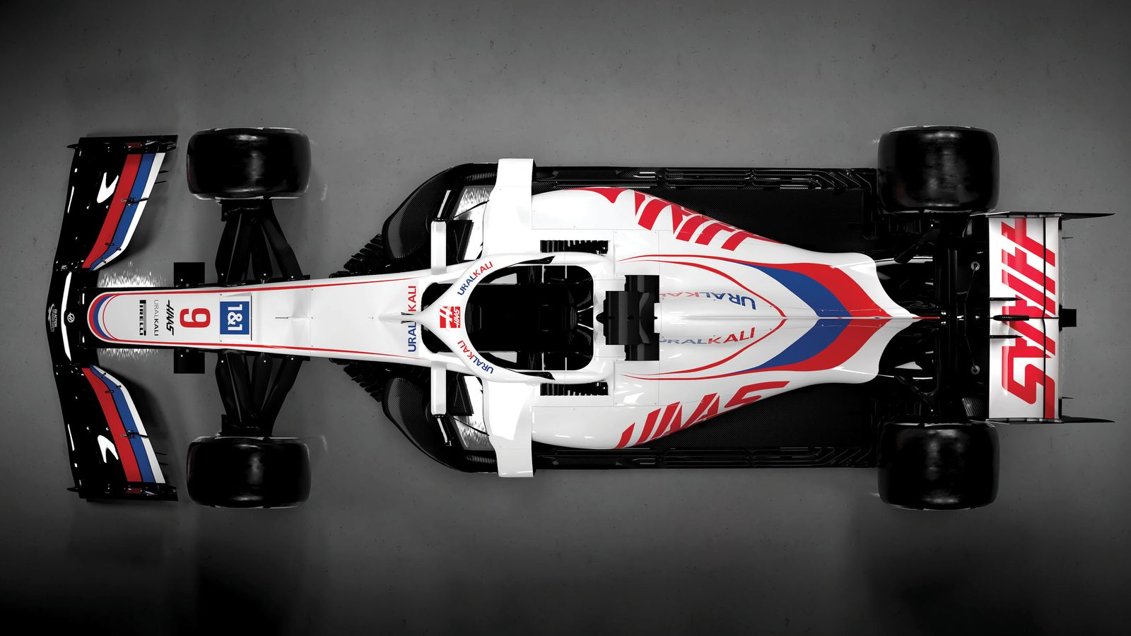 Haas VF-21 Livery Launch