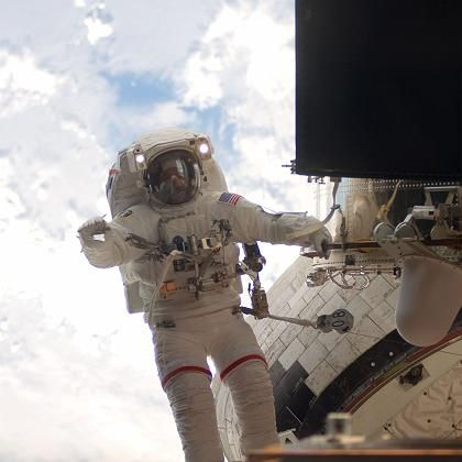"Reparaturarbeiten am ""Hubble""-Weltraumteleskop: Nasa TV war live dabei"