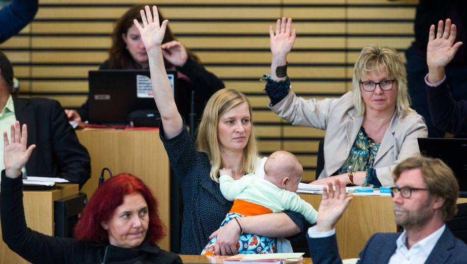"""Grünen-Abgeordnete Henfling: """"Jetzt sei doch nicht so zickig"""""""