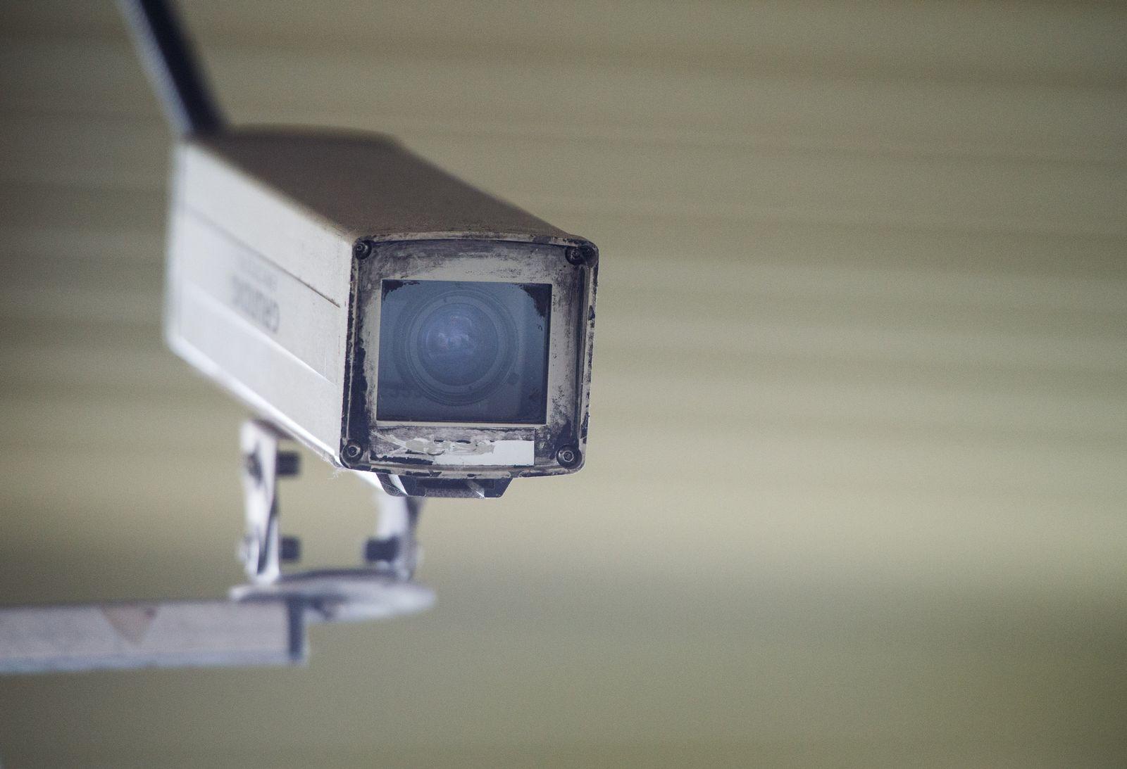 Symbolbild Videokamera, Überwachungskamera