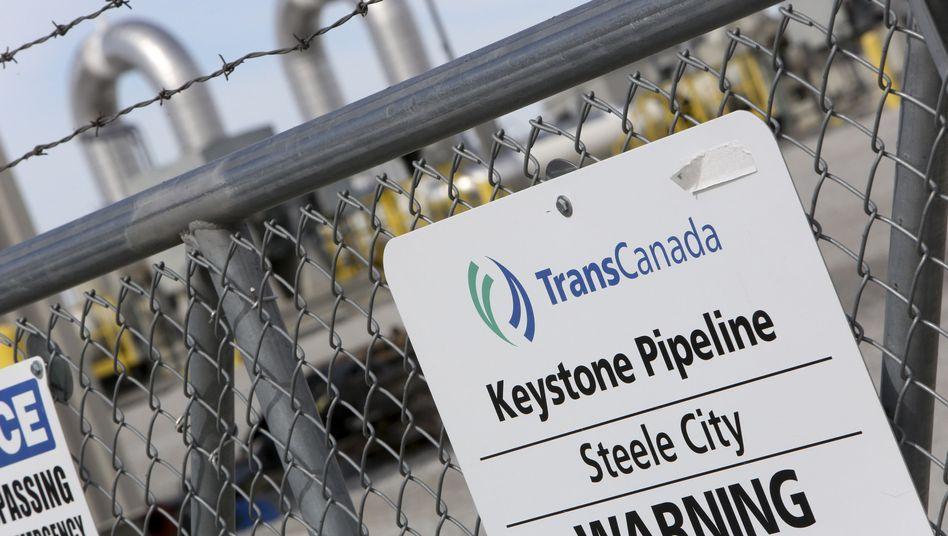 Trans-Canada-Pumpstation in Nebraska