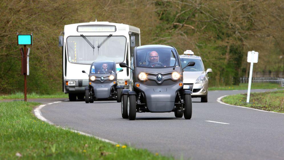 Renault Twizy: Das Spiel-Fahrzeug