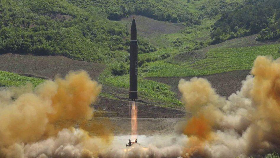 Raketentest in Nordkorea am 4. Juli 2017