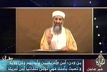 Bin-Laden-Video: Gibt es einen Zusammenhang zwischen Reden und Anschlägen?