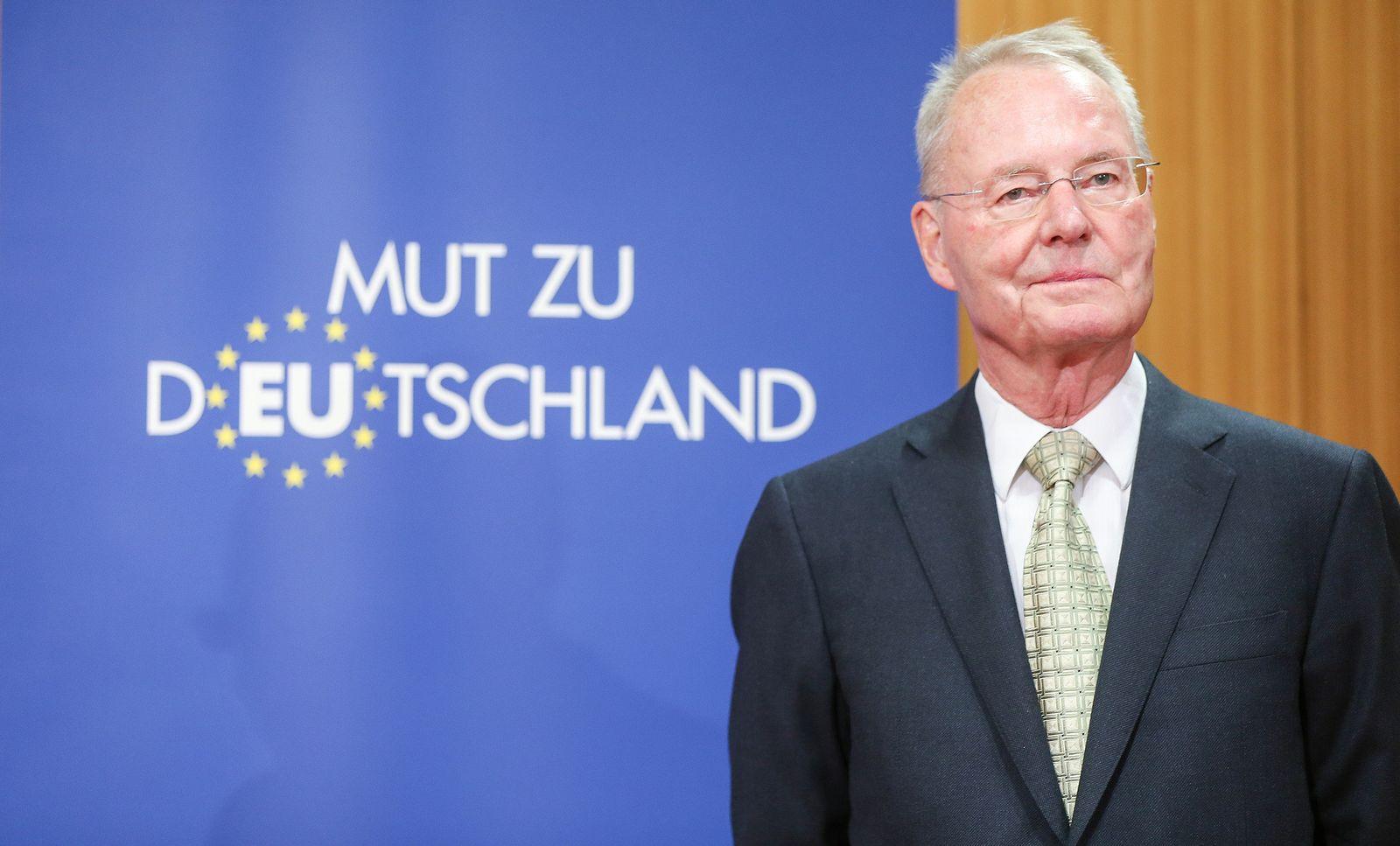 Afd nach Europawahl / Hans-Olaf Henkel