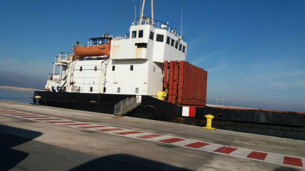 Explosive Fracht: 400 Tonnen Sprengstoff an Bord
