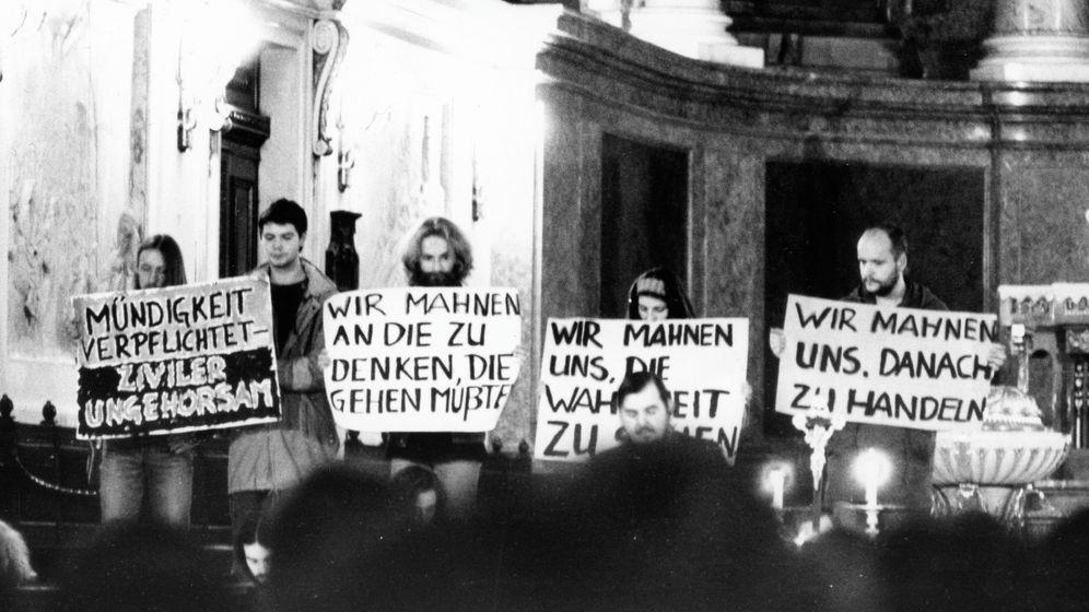 Rebellion in der DDR: Gegen das System