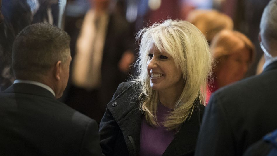 Monica Crowley in New York
