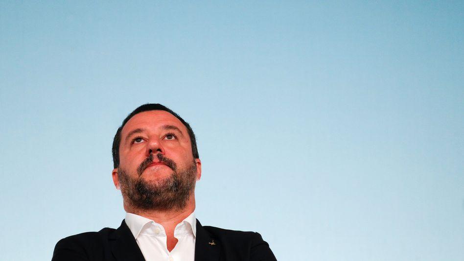 Matteo Salvini: weist den Verdacht der Käuflichkeit zurück