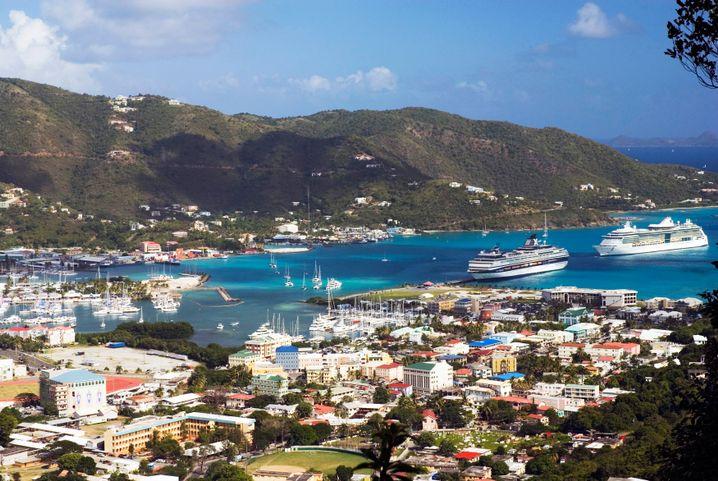 Die Britischen Jungferninseln (hier Tortola): Eine Oase des Geldes