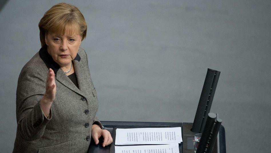 """Kanzlerin Angela Merkel: """"Die Stärken der Europäischen Union neu entfalten"""""""