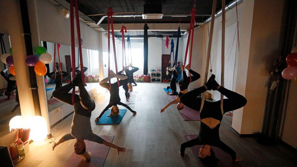 Verbotenes Training bei »Fitness for Ladies« in Piaseczno: »Wer soll sich hier anstecken?«