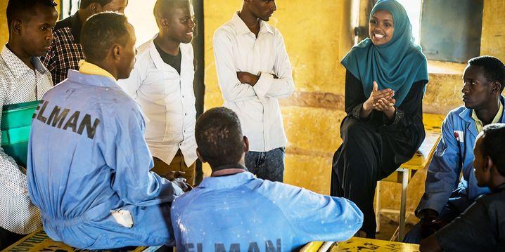 Ilwad Elman baute das Elman Peace Center in Mogadischu wieder auf