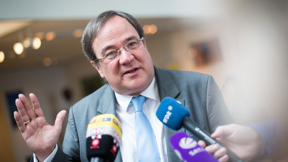 CDU-Landeschef Laschet: Ersatznoten frei Hand ermittelt