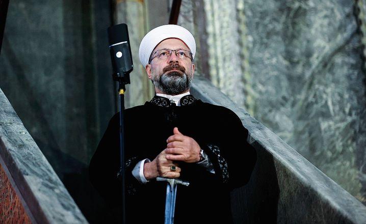 Diyanet head Ali Erbas