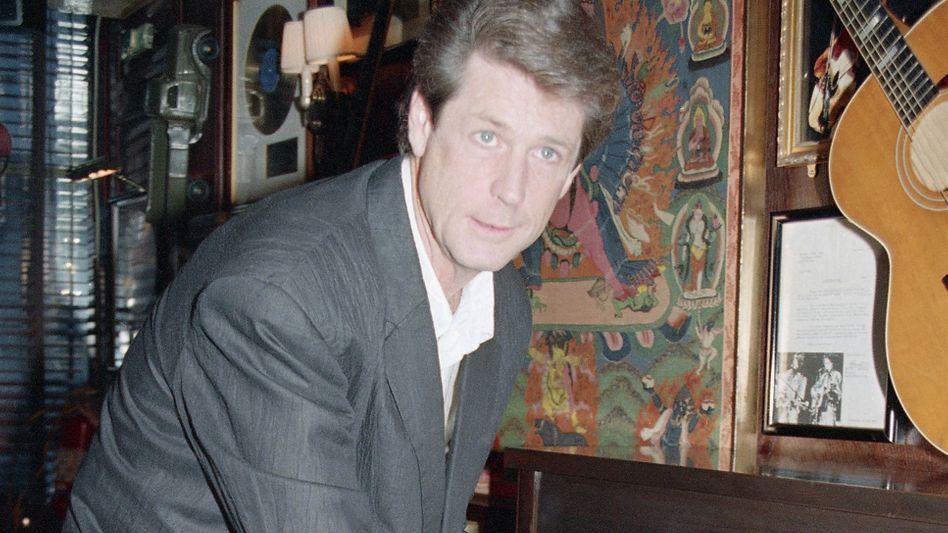 Brian Wilson, ehemals Mitglied der Beach Boys, im August 1988 in New York.