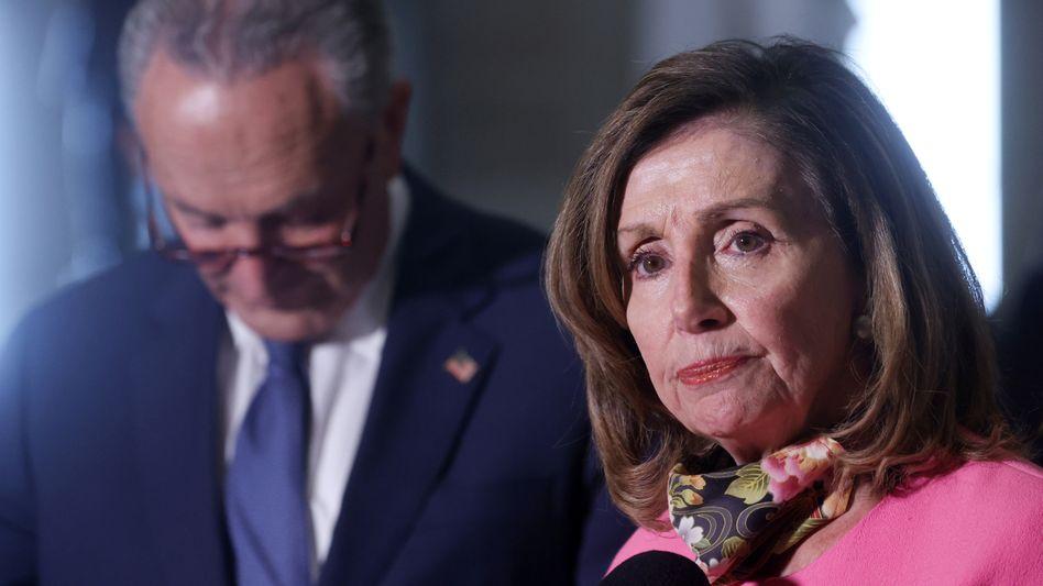"""Demokraten Chuck Schumer und Nancy Pelosi: """"Enttäuschende"""" Gespräche"""