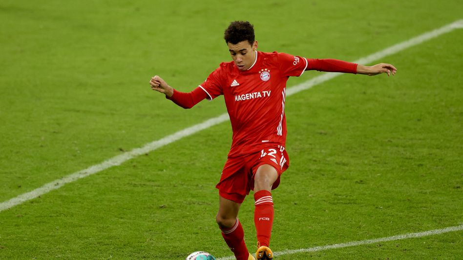 Bayerns Jamal Musiala im Dezember 2020 gegen RB Leipzig