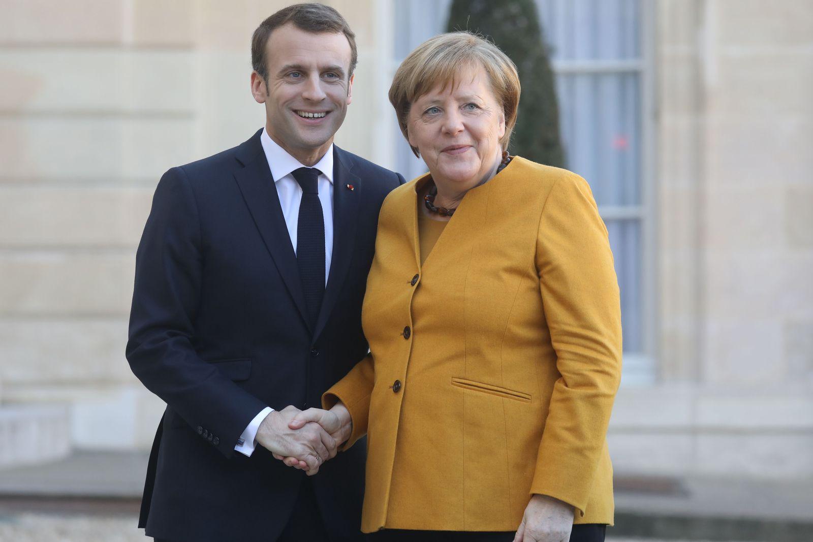 Merkel/ Macron