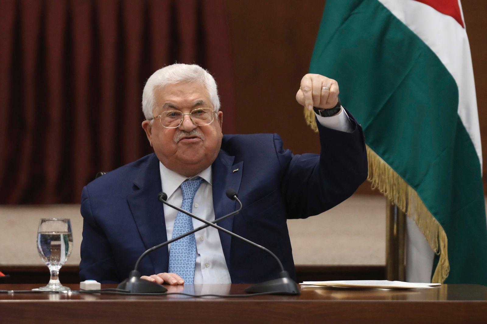 Palästinenserpräsident Abbas