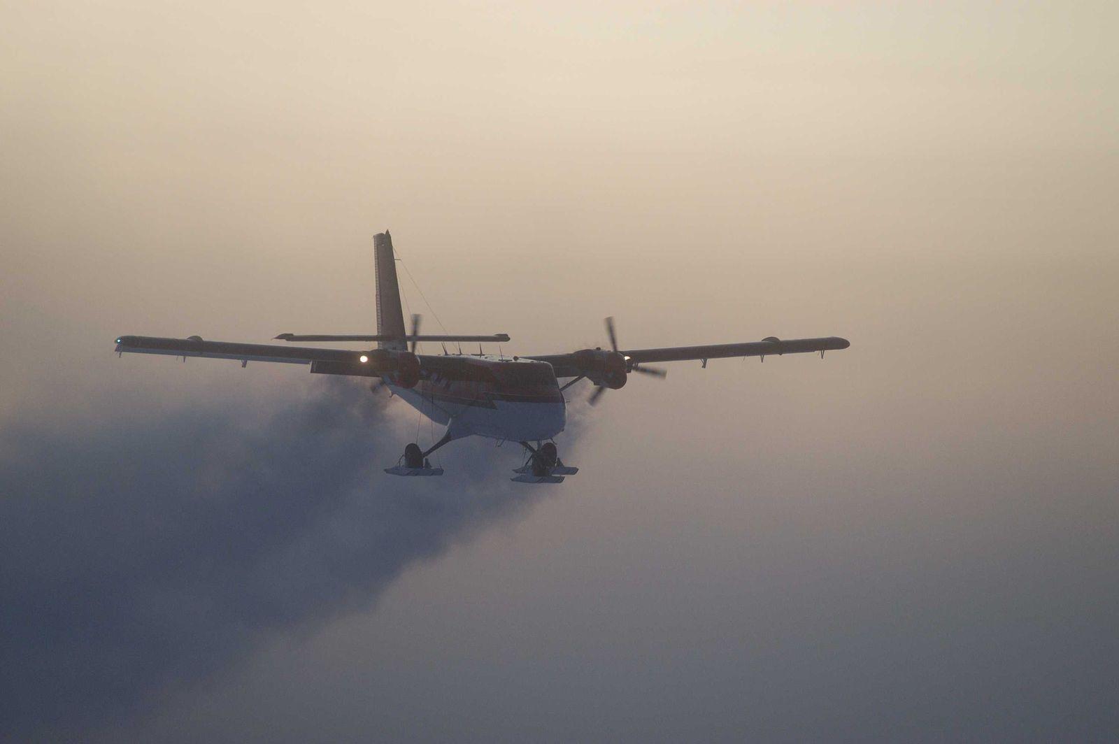 Rettungsflug Südpol