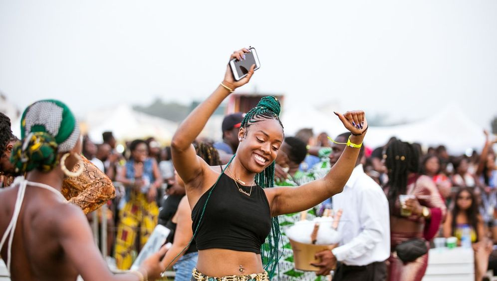 """Afrochella-Festival in Ghana: """"Yo, wir sind genauso fähig wie der Rest der Welt"""""""