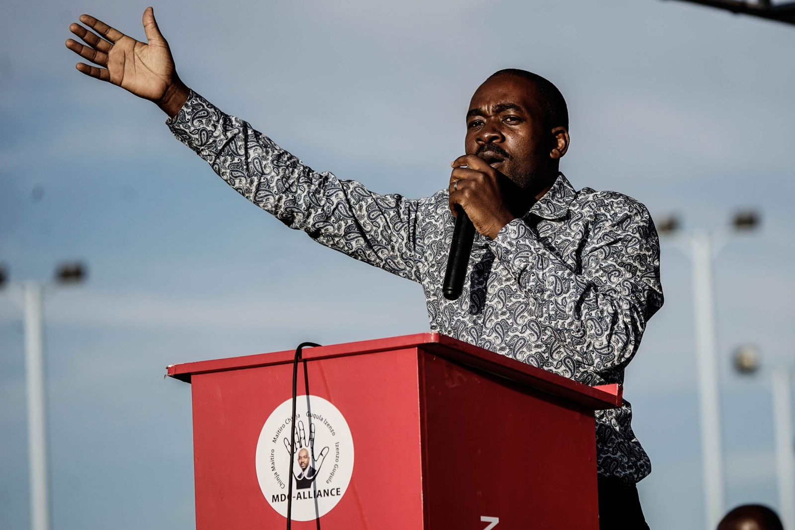 Nelson Chamisa/ Simbabwe/ Wahl