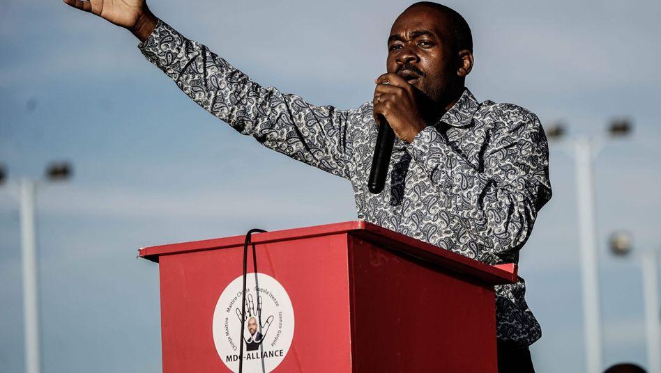 Nelson Chamisa, Oppositionsführer in Simbabwe
