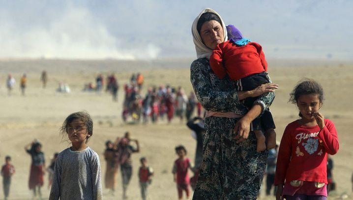 Fotostrecke: Jesidische Frauen