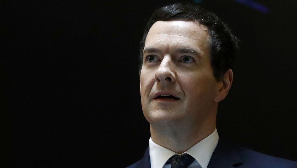 Britischer Schatzkanzler George Osborne