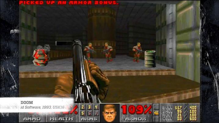 """""""Doom"""": Das Spiel kam 1993 auf den Markt und ist einer der bekanntesten Shooter"""