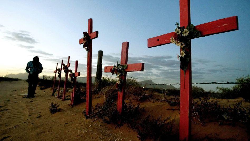 Gräber im mexikanischen Grenzland: Von der staatlichen Ordnung verlassen