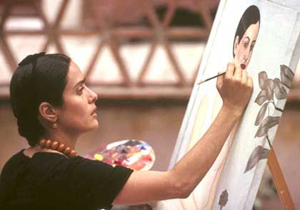 Salma Hayek als Malerin Kahlo: Die Grenzen zwischen Realität und Phantasie verschmelzen