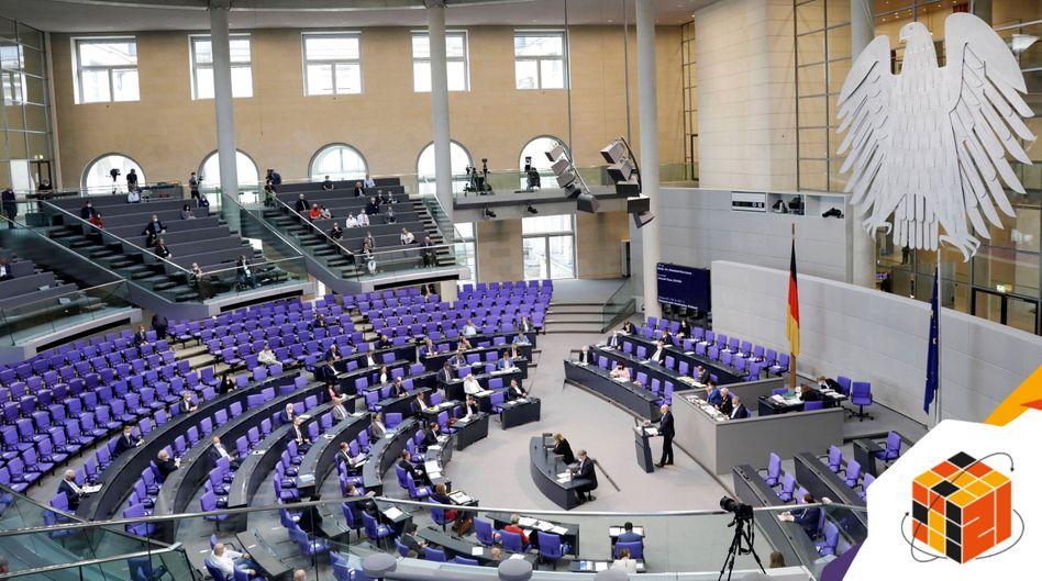 Plenarsaal des Bundestags: »Wir erleben einen enormen Machtverlust der Fraktionen gegenüber der Regierung«