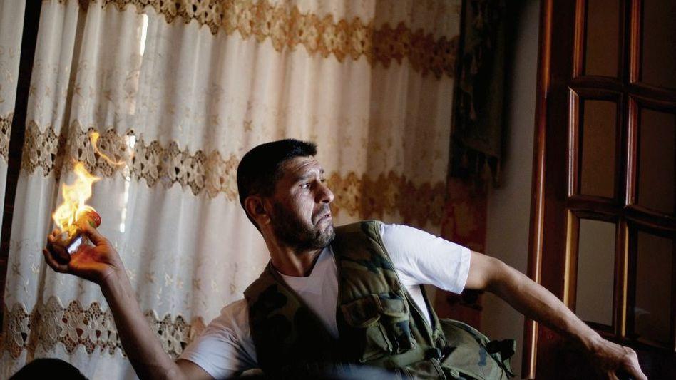 Syrischer Rebell in Aleppo: Religion als Opium des Volkes und Kokain für die Kampfbereiten