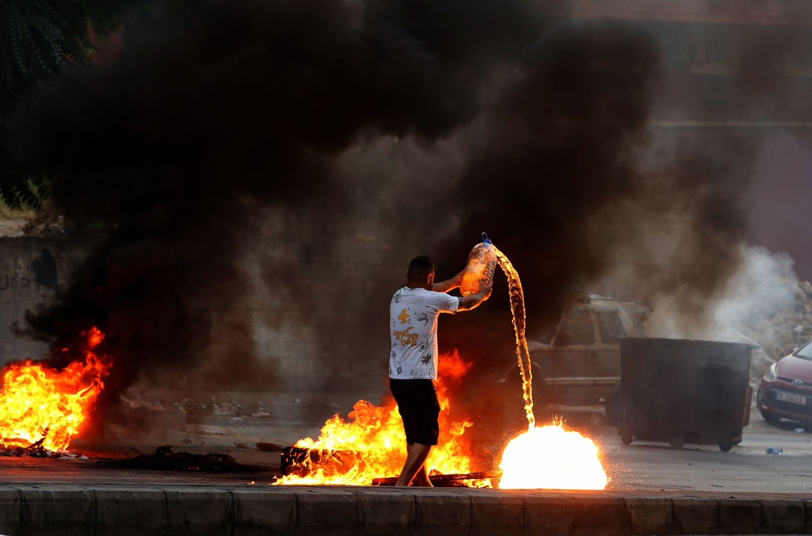 Anti-government protest in Beirut