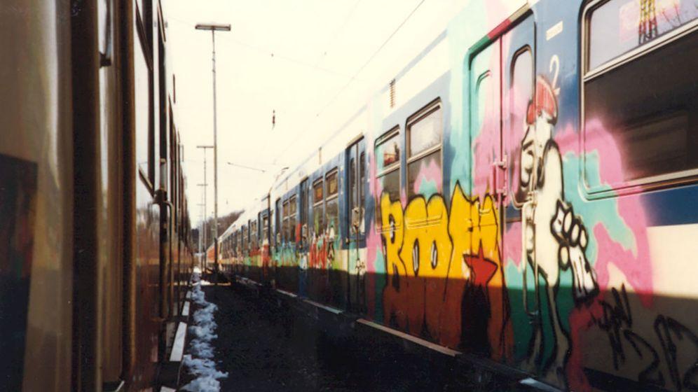 Geltendorfer Zug: Style auf Schienen