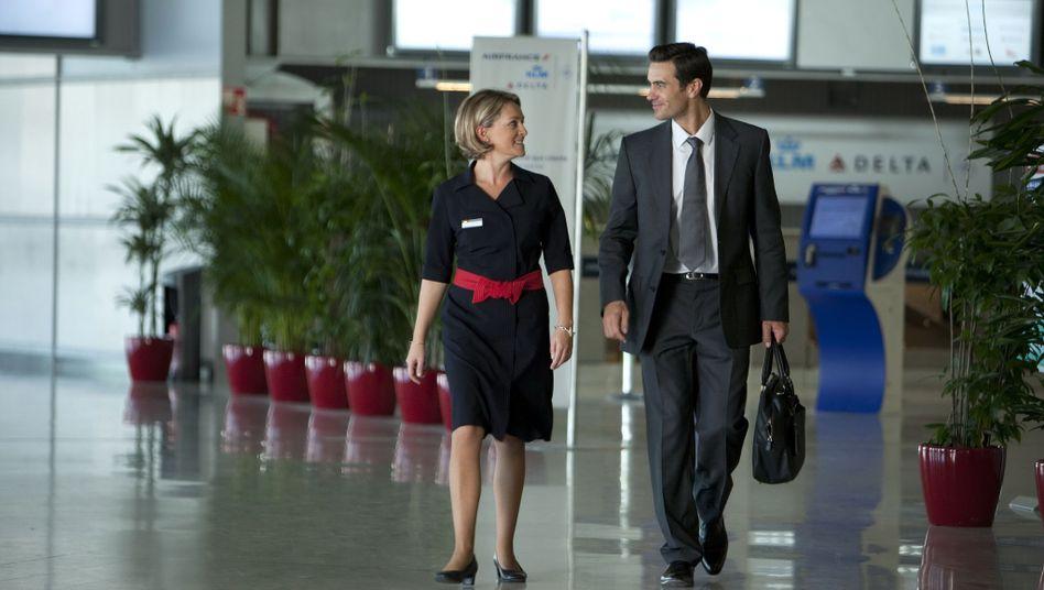Pariser Flughafen Charles-de-Gaulle: Persönliche Betreuung durch Air France