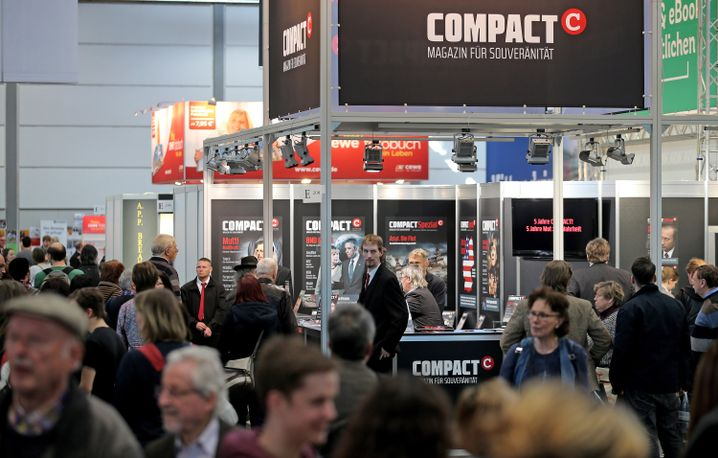 """""""Compact""""-Messestand in Leipzig"""