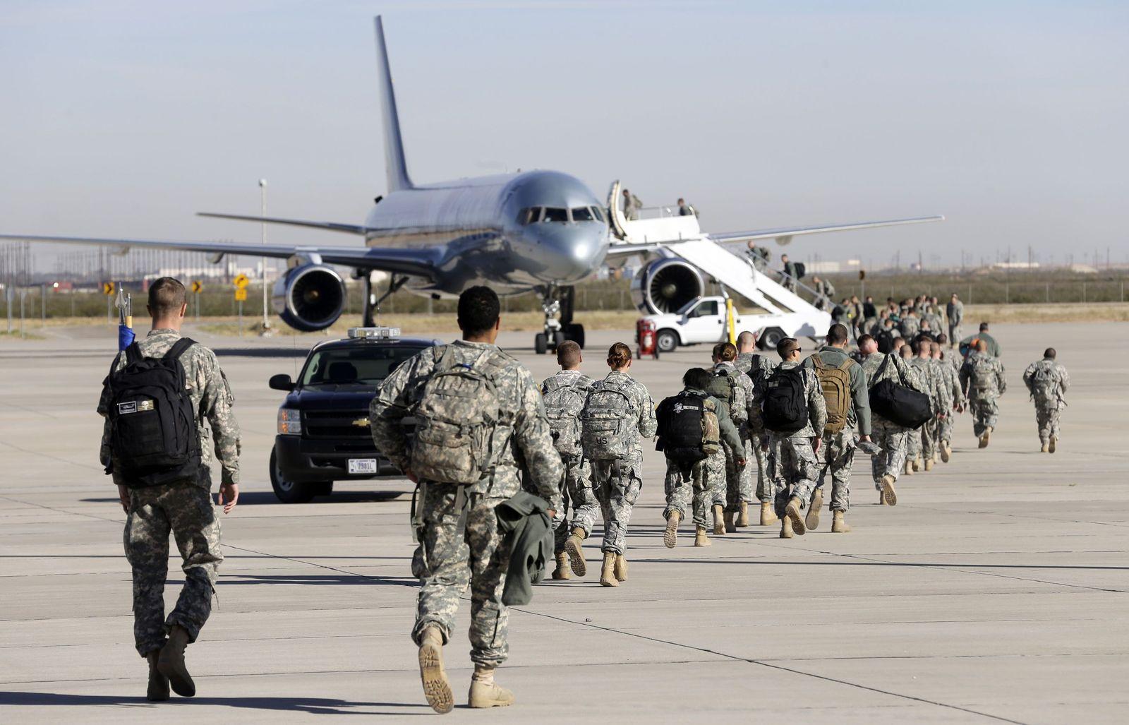 Troops Deploy Ebola