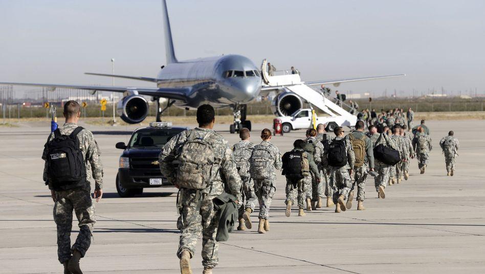 US-Soldaten vor ihrem Einsatz in Westafrika: Keine Rückkehr ohne Quarantäne