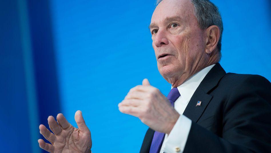 Milliardär und Ex-Bürgermeister Michael Bloomberg