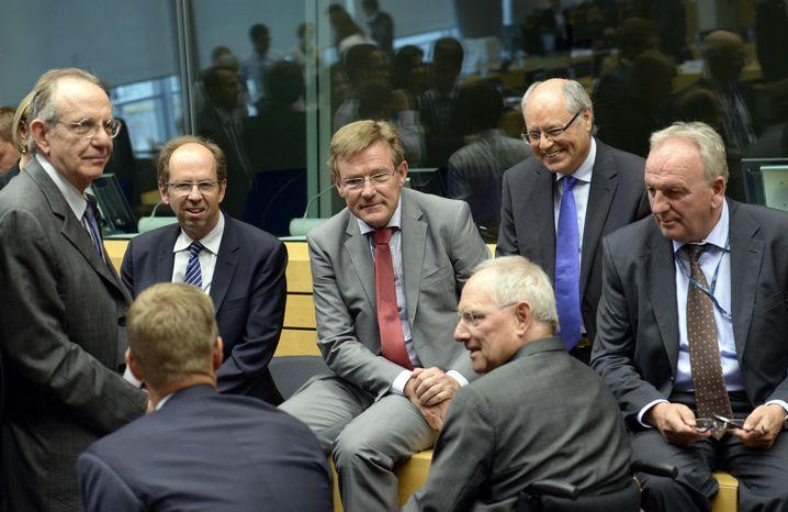 Eurofinanzminister in Brüssel (im Jahr 2015)
