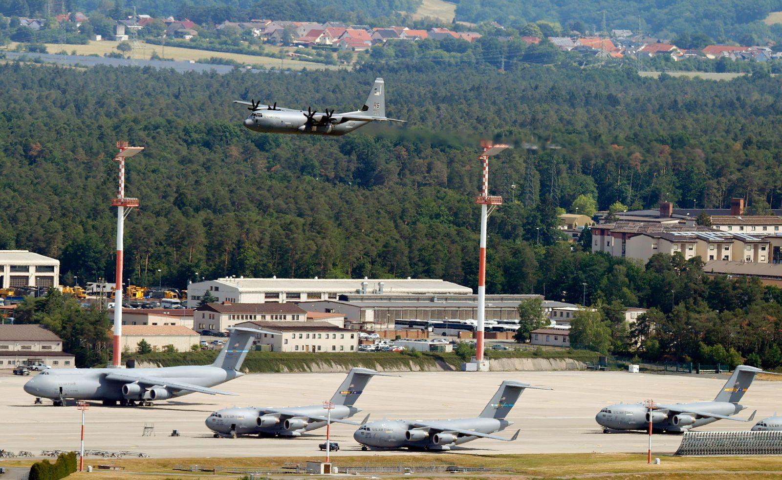 US Air Base in Ramstein, Germany - 08 Jun 2020