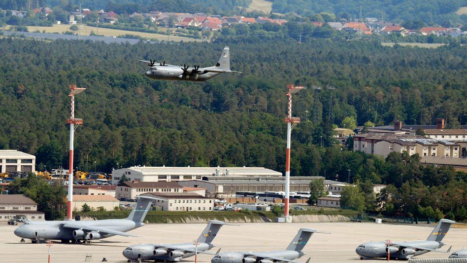 US-Basis Ramstein in Rheinland-Pfalz: Eher Brückenkopf als Schutztruppe