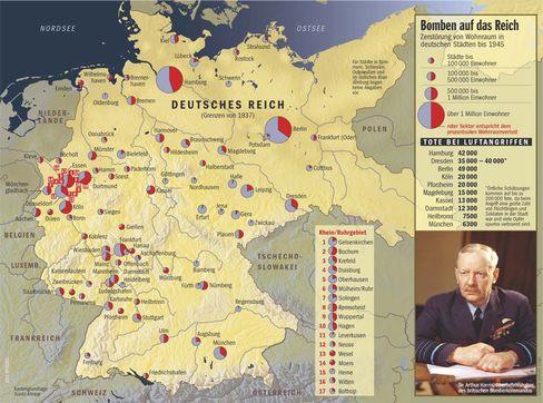Bomben auf das Reich: Tote bei Luftangriffen