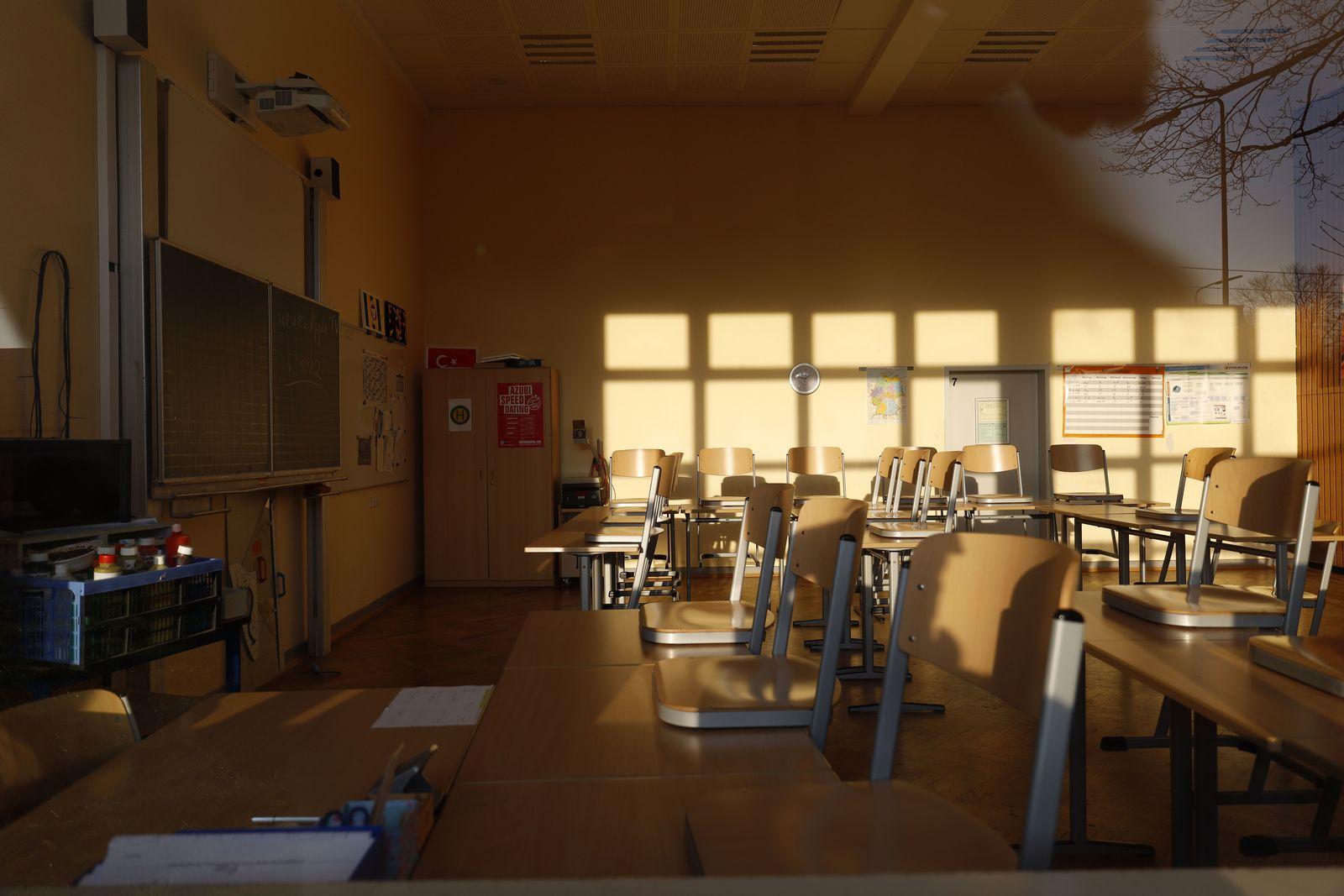 Gesperrte Schule